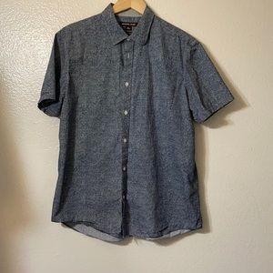 Michael Kors XL shirt s/s button down dots design